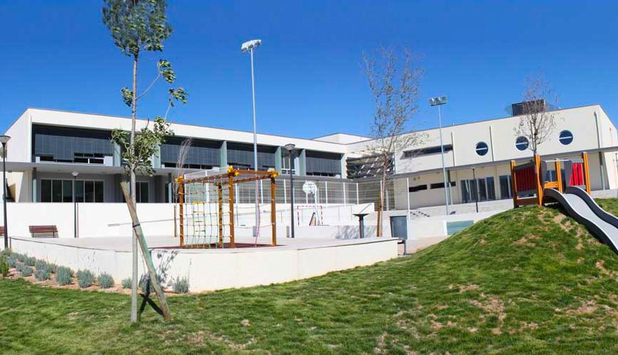 Construção do Centro Escolar de Alcanede